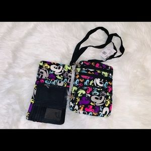 Mickey Mouse bag and wallet